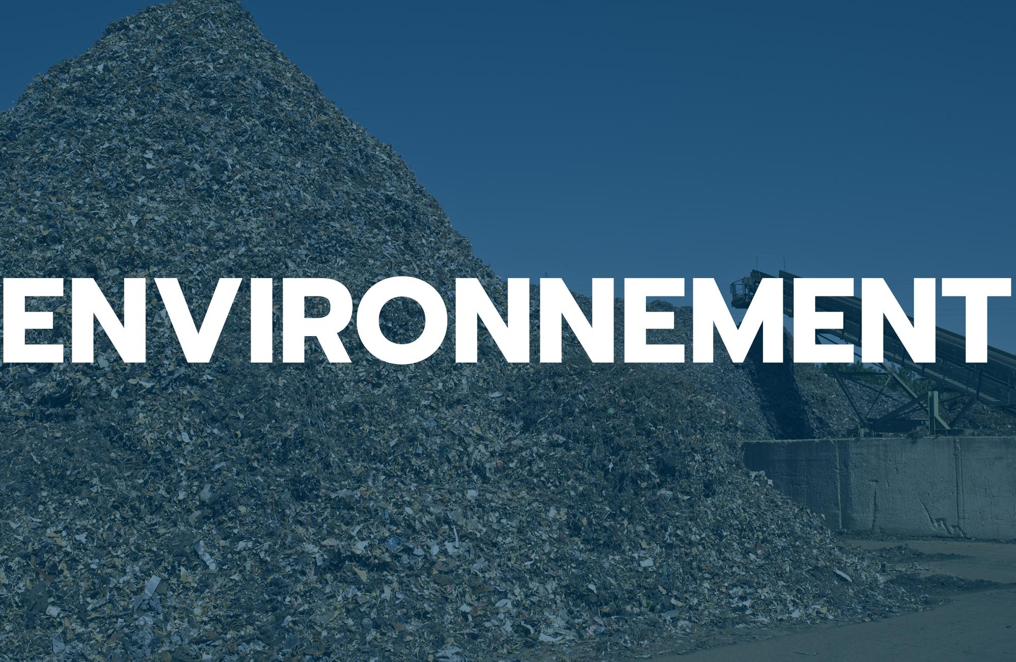marché de l'environnement